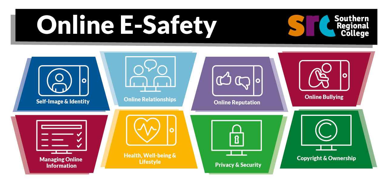 Online E Safety Banner